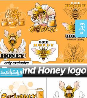 دانلود لوگو های عسل و زنبور - شماره 2