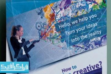 دانلود فایل لایه باز پوستر شرکتی – شماره 19