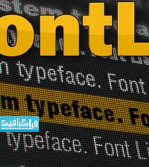 پلاگین افتر افکت نمایش فهرست فونت Font List
