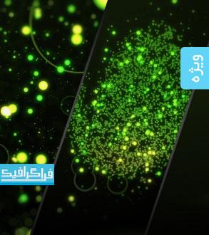 پروژه افتر افکت نمایش لوگو - طرح نقطه های نورانی