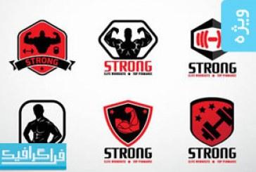 لوگو های باشگاه بدنسازی و تناسب اندام – شماره 2