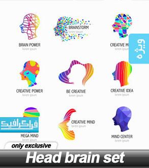 دانلود لوگو های سر انسان - شماره 3