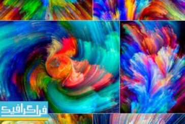 دانلود تکسچر های رنگارنگ – Colorful Textures