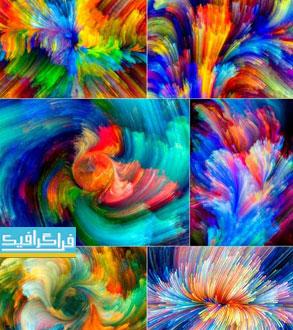 دانلود تکسچر های رنگارنگ - Colorful Textures