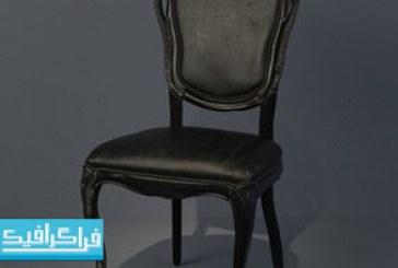 دانلود مدل 3 بعدی صندلی ناهار خوری