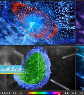 پروژه افتر افکت نمایش لوگو - طرح انرژی