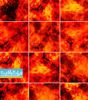 دانلود تکسچرهای آتش - Fire Textures - شماره 2