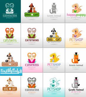 دانلود لوگو های سگ و گربه بامزه