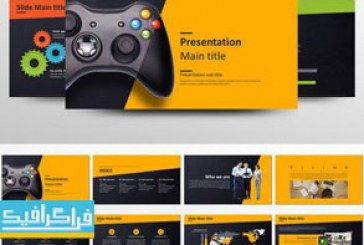 دانلود قالب پاورپوینت بازی – Game Presentation