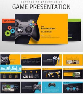 دانلود قالب پاورپوینت بازی - Game Presentation