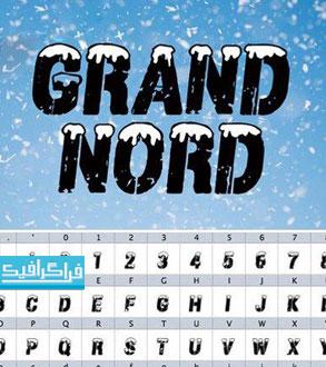 دانلود فونت انگلیسی گرافیکی Grand Nord