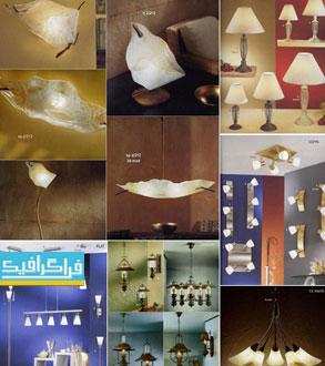 دانلود مدل 3 بعدی مجموعه لامپ های مختلف