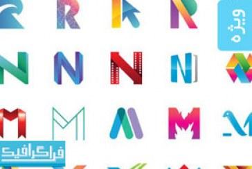 دانلود لوگو های حروف انگلیسی – شماره 4