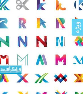 دانلود لوگو های حروف انگلیسی - شماره 4