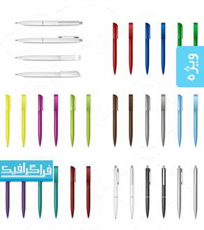 دانلود وکتور های خودکار - Pen Vectors