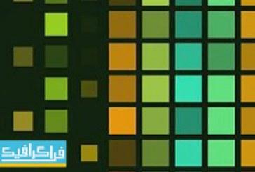 دانلود ویدئو فوتیج مربع های رنگی – کیفیت 4K