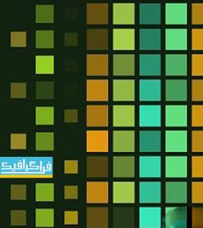 دانلود ویدئو فوتیج مربع های رنگی - کیفیت 4K