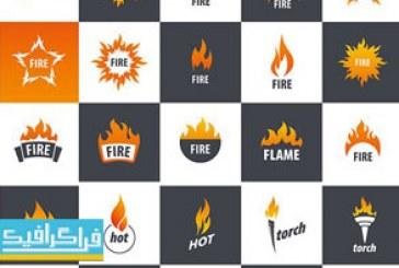 دانلود لوگو های وکتور آتش – Fire Logos