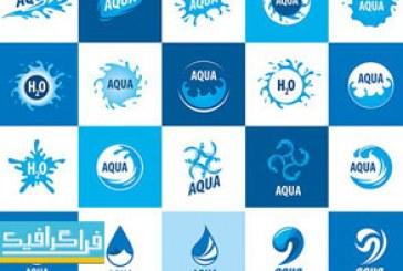 دانلود لوگو های آب – Water Logos – شماره 4