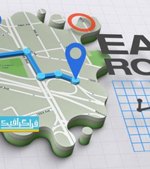 دانلود پروژه افتر افکت نقشه ساز 3 بعدی