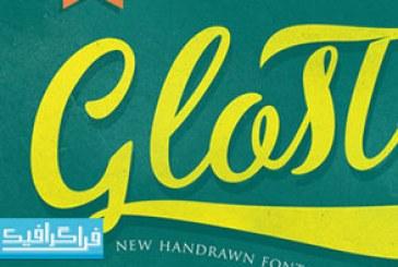 دانلود فونت انگلیسی دستخط Gloster