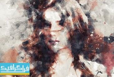دانلود اکشن فتوشاپ افکت نقاشی Painter