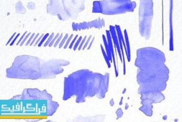 براش های فتوشاپ خطوط آبرنگ – شماره 2