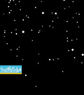 دانلود ویدئو فوتیج بارش برف در زمینه سیاه