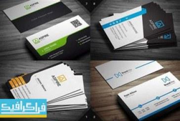 دانلود 12 کارت ویزیت لایه باز شرکتی مدرن – شماره 2