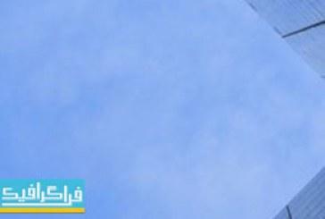 دانلود ویدیو فوتیج حرکت ابر ها و ساختمان تجاری