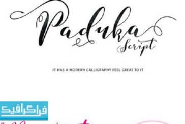 دانلود فونت انگلیسی دستخط Paduka