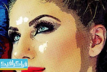 دانلود اکشن فتوشاپ افکت هنری Pop Art