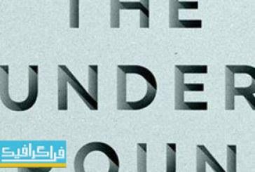 دانلود فایل لایه باز افکت متنی Underground