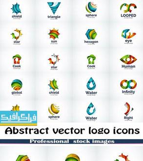 دانلود لوگو های وکتور انتزاعی - Abstract Logos - شماره 10