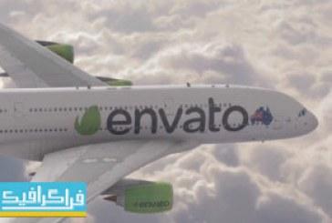 دانلود پروژه افتر افکت نمایش لوگو – طرح هواپیما