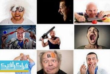 دانلود تصاویر استوک مرد های دیوانه