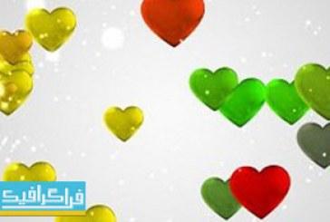 دانلود ویدیو فوتیج انیمیشن قلب