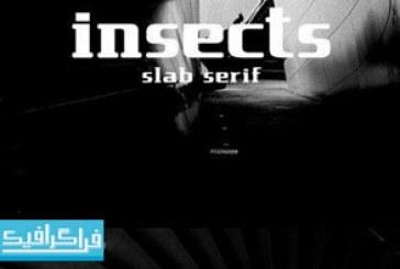 دانلود فونت انگلیسی Insect Slab Serif