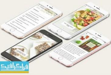 دانلود ماک آپ های گوشی موبایل iPhone 6s