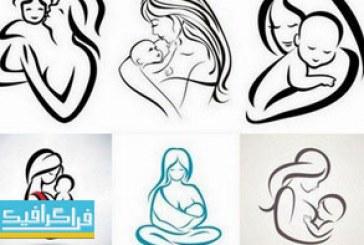 دانلود لوگو های مادر و کودک – شماره 2