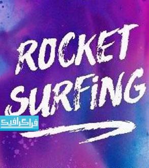 دانلود فونت انگلیسی دستخط Rocket Surfing