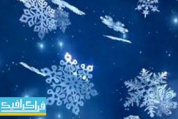 دانلود ویدیو فوتیج بارش برف – طرح فانتزی