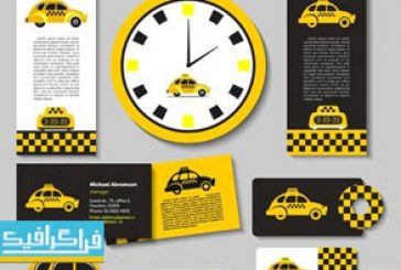 دانلود وکتور طرح های تاکسی – شماره 2