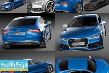 دانلود مدل 3 بعدی اتومبیل آئودی Audi RS7