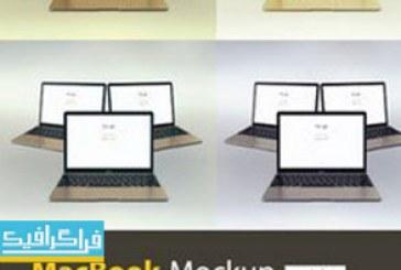 دانلود ماک آپ های فتوشاپ لپ تاپ مک بوک – شماره 2