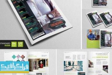 فایل لایه باز ایندیزاین قالب مجله – شماره 7
