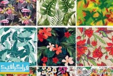 دانلود وکتور پترن های استوایی – Tropical Patterns