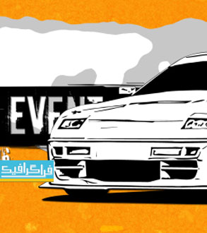 دانلود پروژه افتر افکت تبلیغ مسابقه دریفت اتومبیل