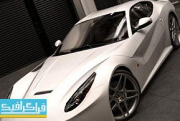 دانلود مدل سه بعدی اتومبیل فراری – کامل