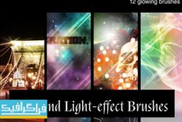 دانلود براش های فتوشاپ افکت نور و ستاره – شماره 4